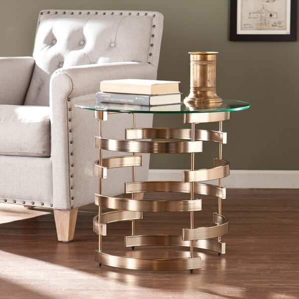 Trimm End Table By Orren Ellis