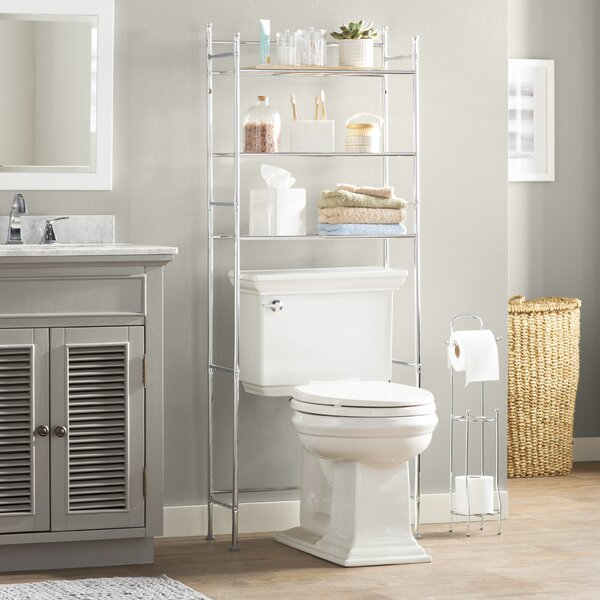 Wayfair Basics 22.83 W x 59.84 H Over-the-Toilet Storage by Wayfair Basics™