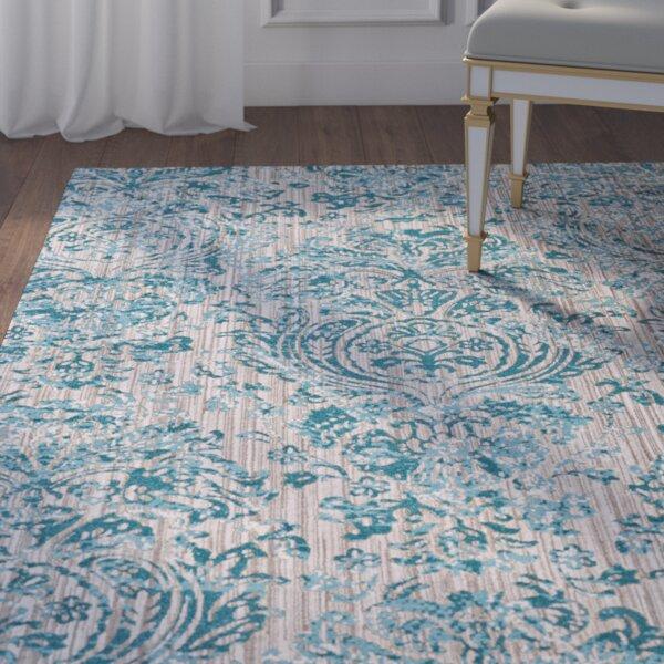 Andersen Aqua Area Rug by Willa Arlo Interiors