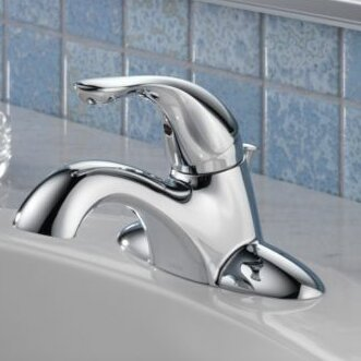 Centerset Bathroom Faucet with Drain Assembly and