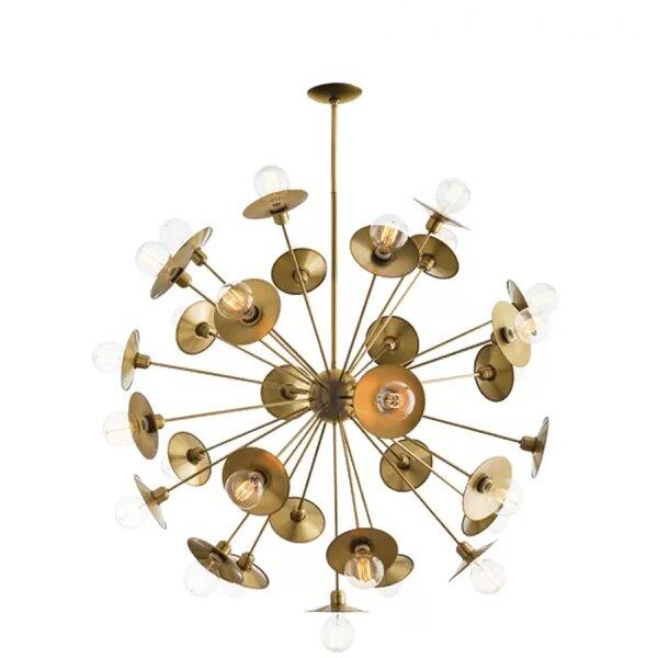 Lavendon 30 - Light Sputnik Sphere Chandelier by Brayden Studio Brayden Studio