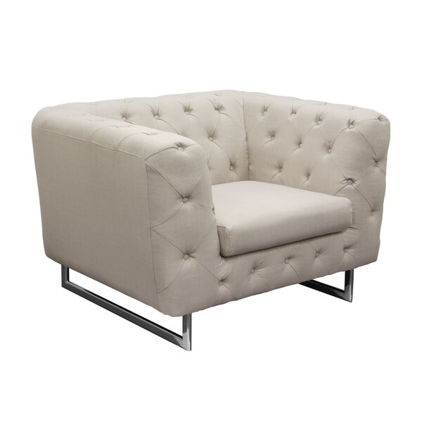Catalina Tufted Chesterfield Chair