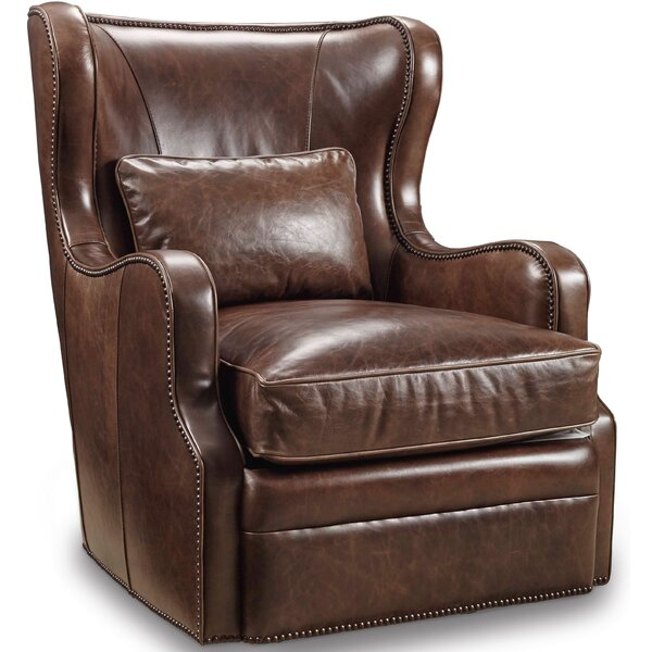 Wellington Swivel Wingback Chair by Hooker Furniture