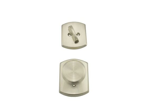 F Series Bowery Single Cylinder Interior Pack with Greenwich Rosette by Schlage
