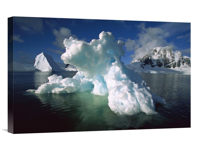 East Urban Home Antarctica Antarctic Peninsula South End Of Lemaire Channel Melting Iceberg Photographic Print On Wrapped Canvas Wayfair