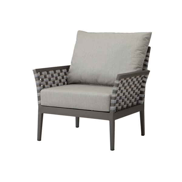 Weathers Patio Chair by Bungalow Rose