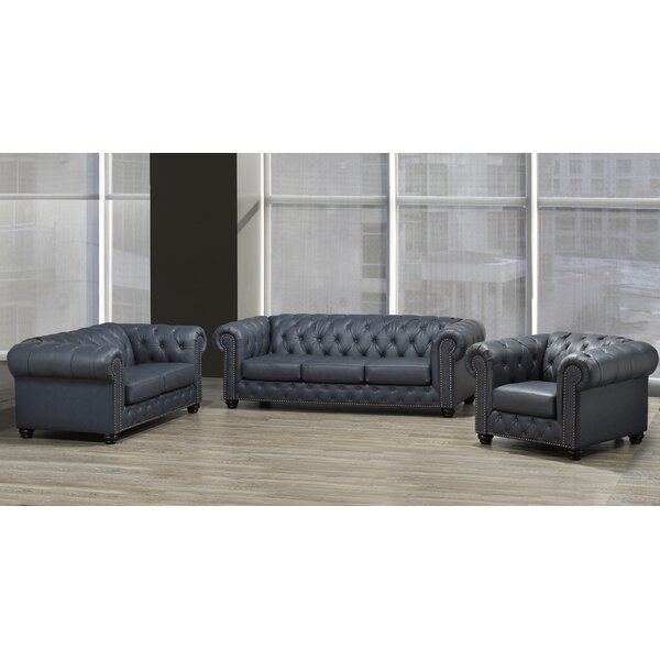 Orner 3 Piece Living Room Set by Astoria Grand