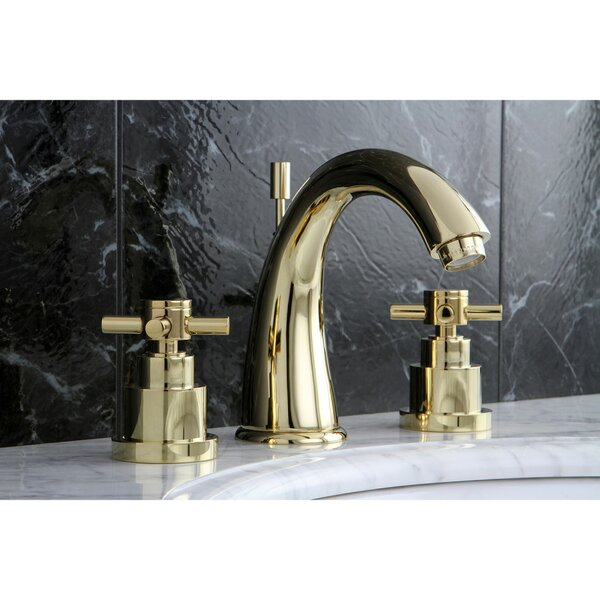 Elinvar Widespread Bathroom Faucet with Drain Assembly