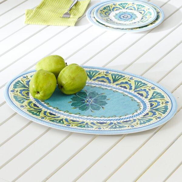 Ludie Melamine Platter by Bungalow Rose