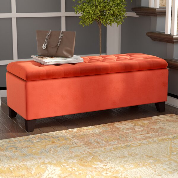 Mooresville Upholstered Storage Bench by House of Hampton