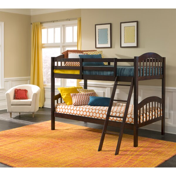 South Lamar Twin over Twin Bunk Bed by Harriet Bee
