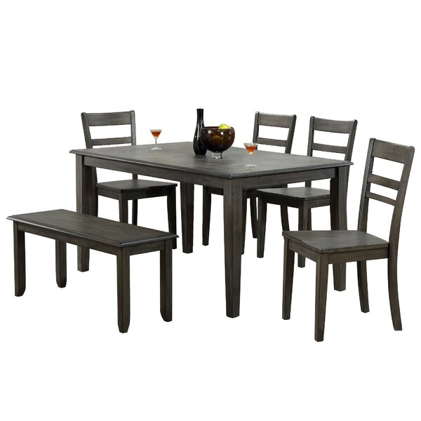Middlebury 6 Piece Dining Set by Red Barrel Studio
