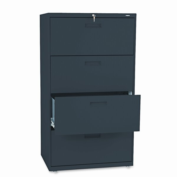 500 Series 30W 4-Drawer Lateral File by HON