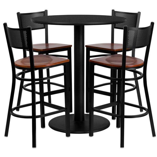 Lomonaco 5 Piece Pub Table Set By Winston Porter Reviews