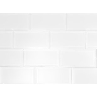 Frosted Elegance 3 X 6 Gl Subway Tile In Matte White