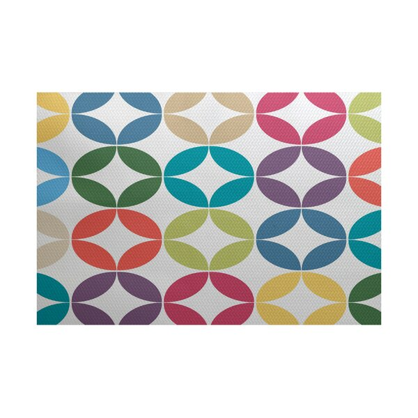 Francisco Blue/Green Indoor/Outdoor Area Rug by Latitude Run