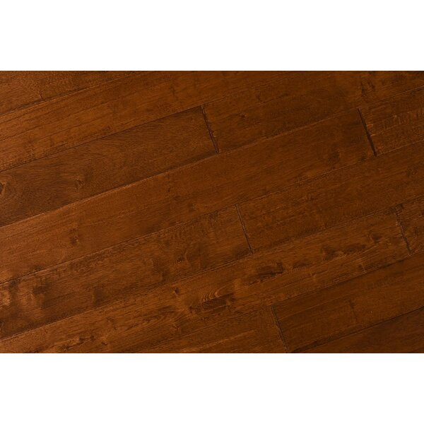 Barwinska 5-1/2 Engineered Hevea Hardwood Flooring in Java Cherry by Albero Valley
