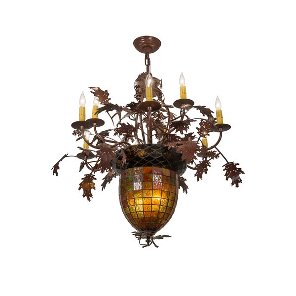 11 - Light Unique / Statement Classic / Traditional Chandelier By Meyda Tiffany