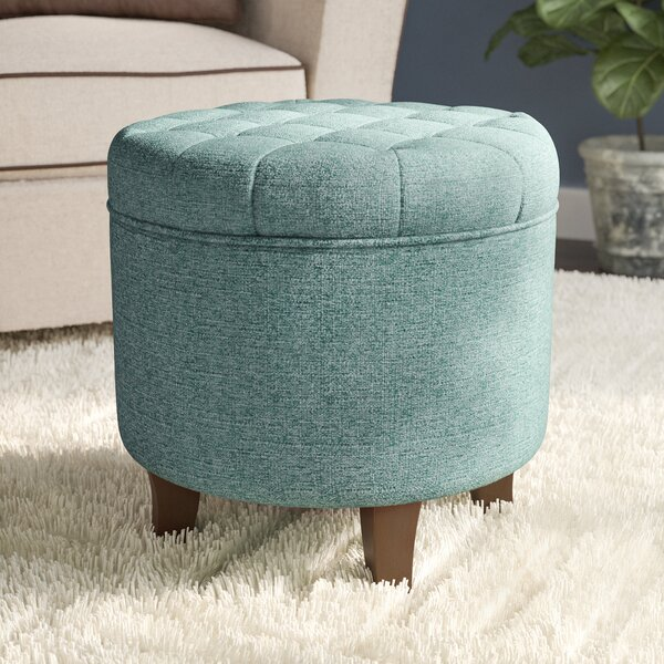 Wednesday Storage Ottoman by Andover Mills