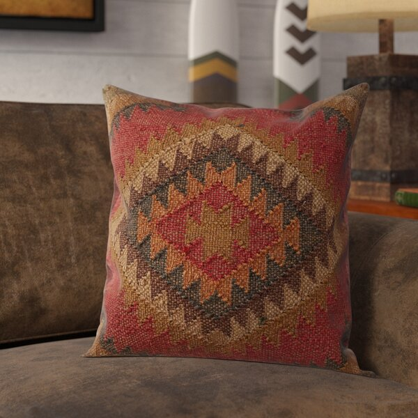 Imran Square Throw Pillow by Loon Peak