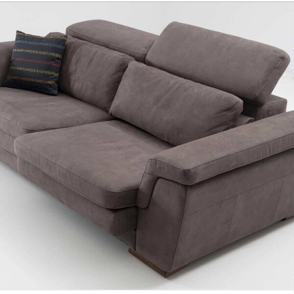 Crittenden Leather Sofa by Orren Ellis