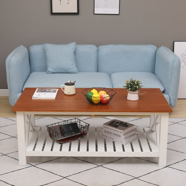 Lampley Coffee Table With Storage By Highland Dunes