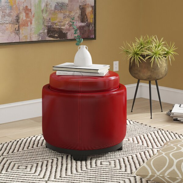 Bolingbrook Storage Ottoman by Andover Mills