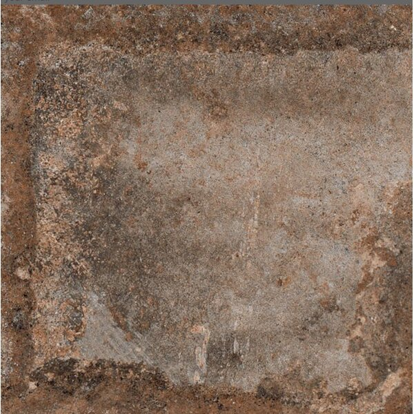 Terranova Tortora Glazed 6 x 6 Porcelain Field Tile in Taupe by QDI Surfaces