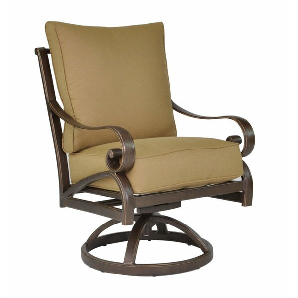 Veracruz Swivel Rocking Chair with Cushion by Leona