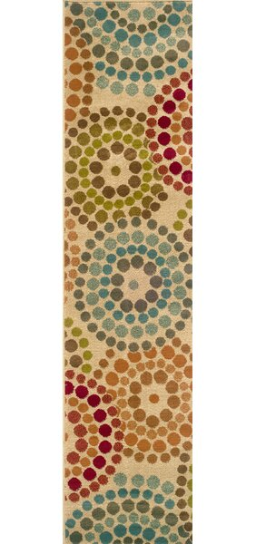 Bienville Gold/Blue Area Rug by Andover Mills