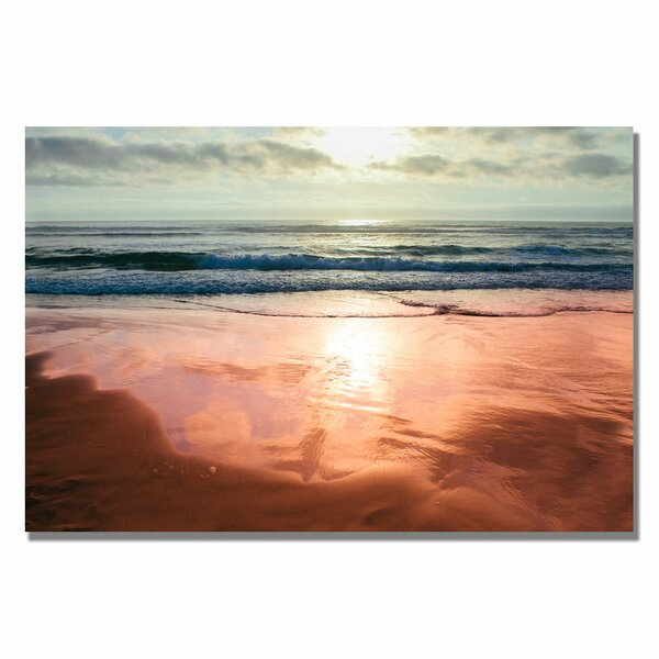 Costal Reflections IV by Ariane Moshayedi Photographic Print on Wrapped Canvas by Trademark Fine Art