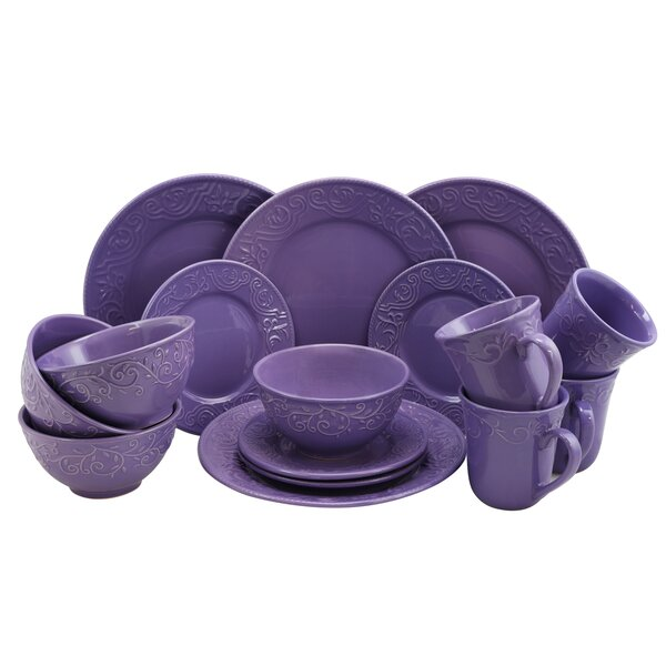 Whyte 16 Piece Dinnerware Set, Service for 4 by Winston Porter