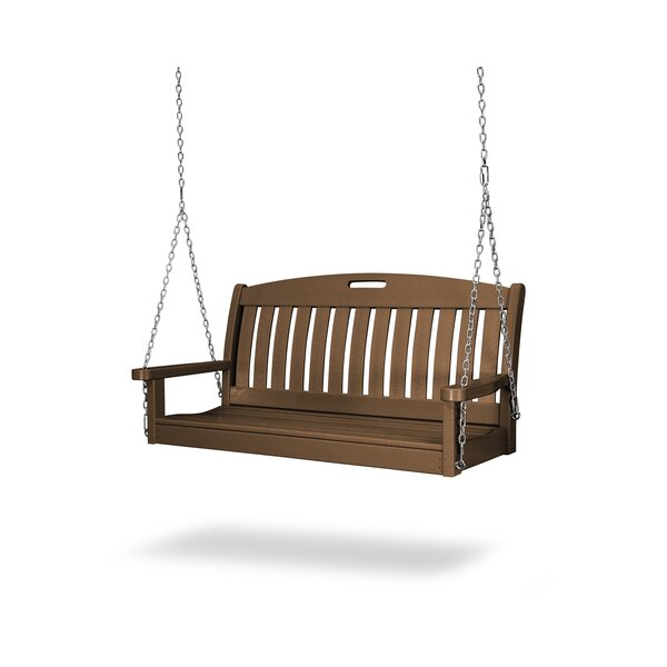 "Nautical 48"" Porch Swing by POLYWOOD®"