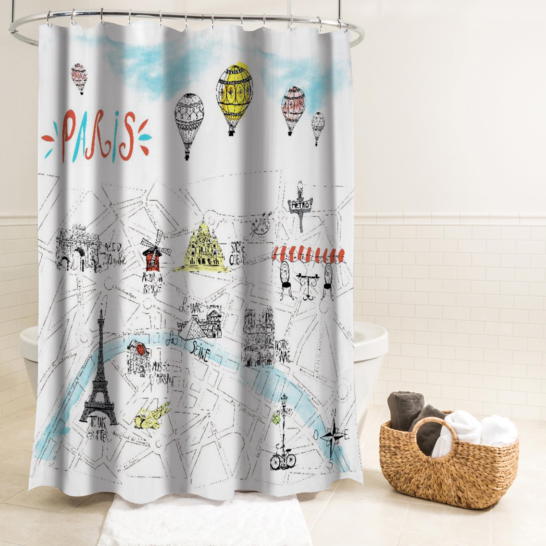 Salma Paris Single Shower Curtain