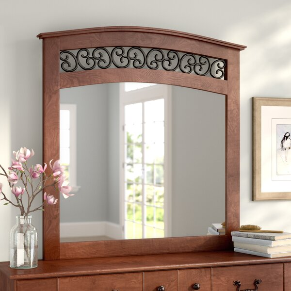 Elle Arched Dresser Mirror by August Grove