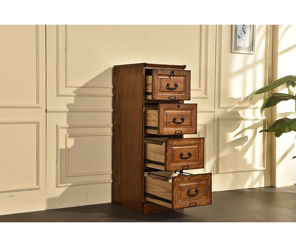 Sarthak 4 Drawer Vertical Filing Cabinet by Darby Home Co