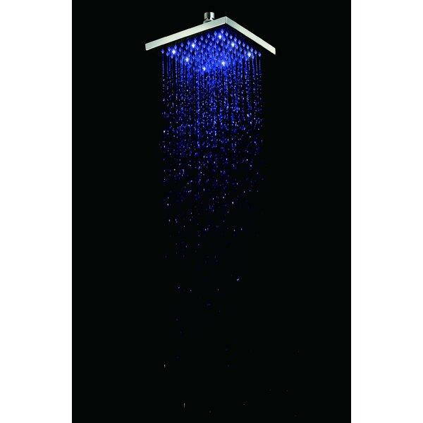 Square Rain 1.8 GPM Shower Head by Alfi Brand