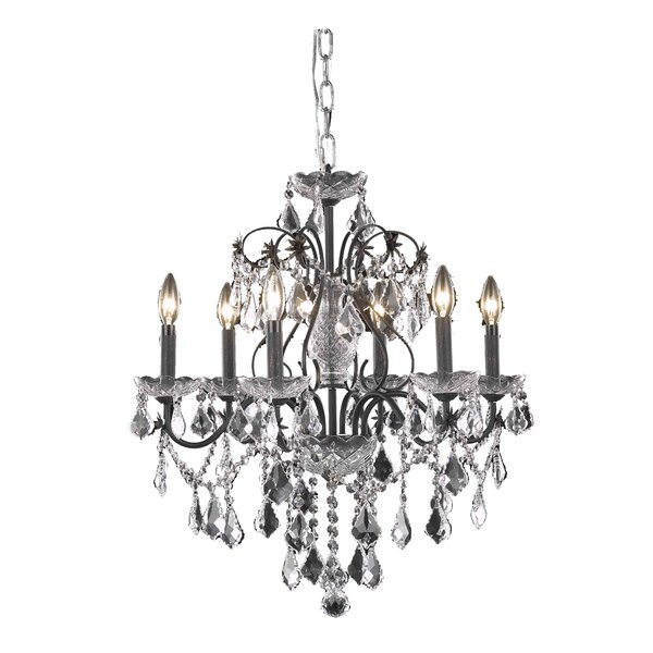 6 - Light Candle Style Classic / Traditional Chandelier By Wildon Home®