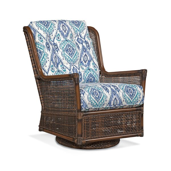 Palermo Swivel Patio Chair with Cushions by Braxton Culler