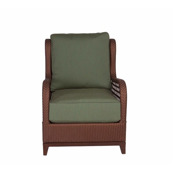 Aberdeen Lounge Chair with Cushion by Acacia Home and Garden