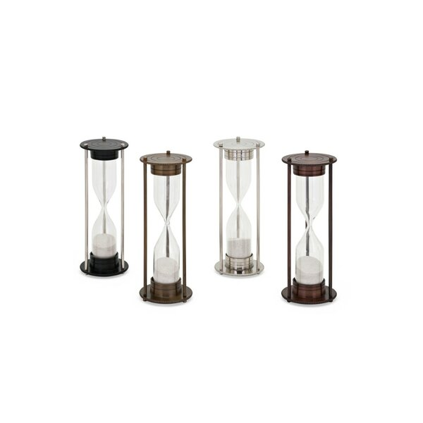 Lawlor Metal Construction Hourglass (Set of 4) by Alcott Hill