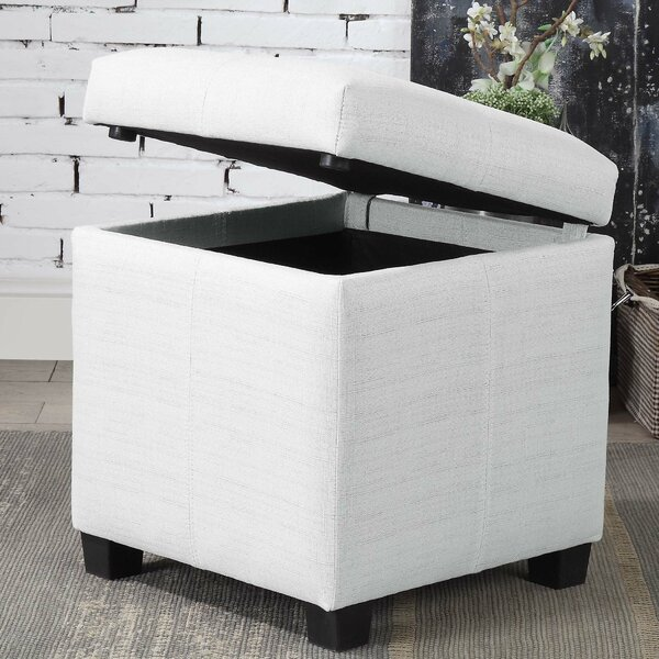 Kelleher Contemporary Storage Ottoman by Charlton Home