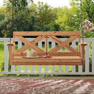 Terrific Farmhouse Hanging Porch Swing Gmtry Best Dining Table And Chair Ideas Images Gmtryco