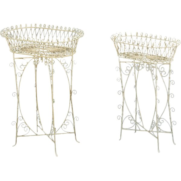 Georgina 2 Piece Plant Stand Set by AA Importing