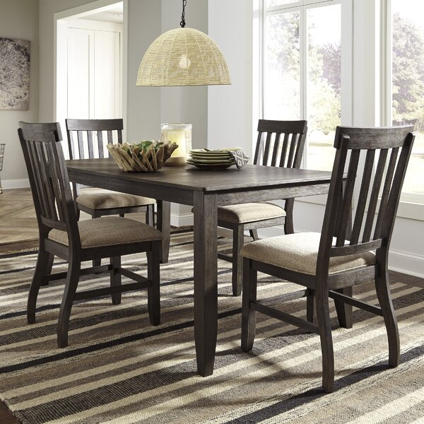 #2 Ravenden 5 Piece Dining Set By Loon Peak Herry Up