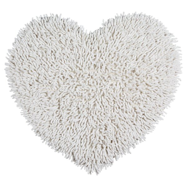 Shagadelic Hand-Loomed White Area Rug by St. Croix