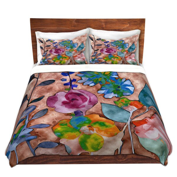 Manhart Ruth Palmer Fabric Feel Floral Microfiber Duvet Covers