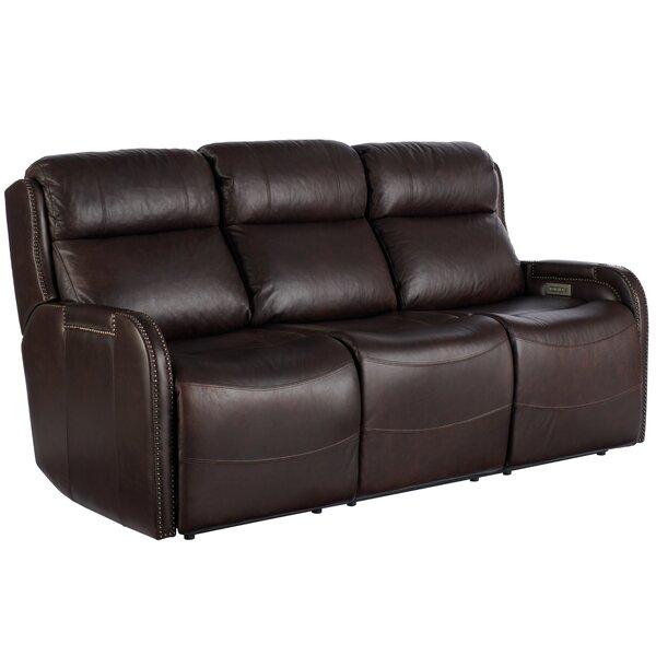 Dutson Leather Reclining 77