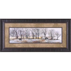 Hedgerow by Peter Sculthorpe Framed Painting Print by Art Effects