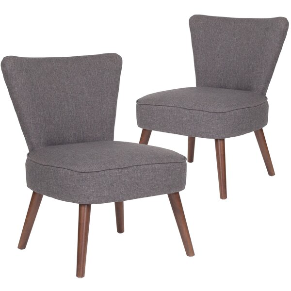 MacArthur Fabric Side Chair (Set of 2) by Ebern Designs